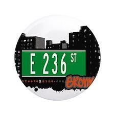 "E 236 St 3.5"" Button"