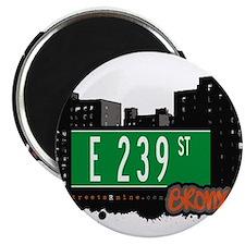 """E 239 St 2.25"""" Magnet (100 pack)"""