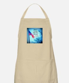 Bless Is The Nation Flag Apron