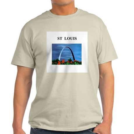 st louis gifts and t-shirts Ash Grey T-Shirt