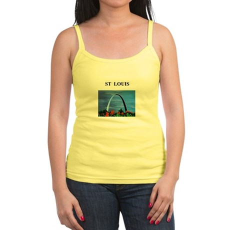 st louis gifts and t-shirts Jr. Spaghetti Tank