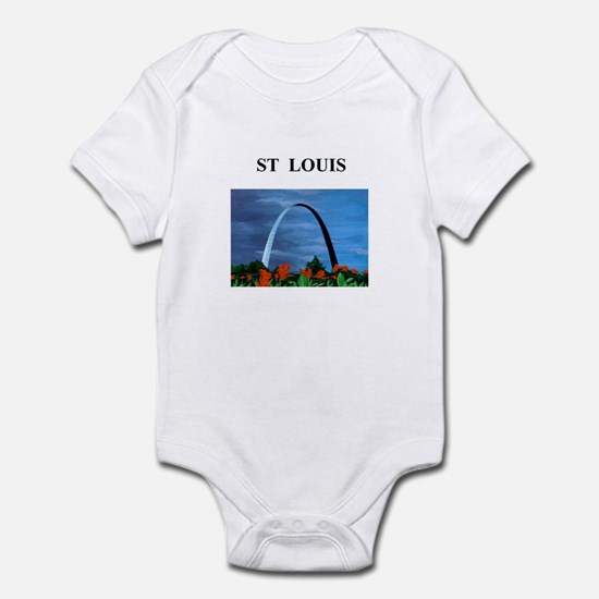 st louis gifts and t-shirts Infant Bodysuit