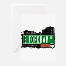 E Fordham Rd Greeting Cards (Pk of 20)