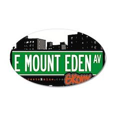 E Mount Eden Ave Wall Decal