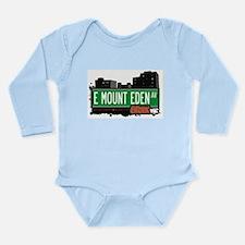 E Mount Eden Ave Long Sleeve Infant Bodysuit