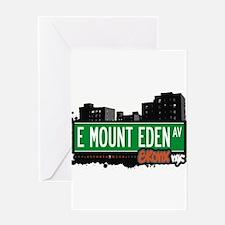 E Mount Eden Ave Greeting Card