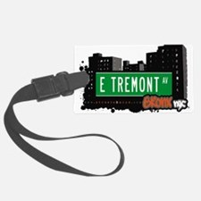 E Tremont Ave Luggage Tag
