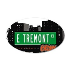 E Tremont Ave Wall Decal