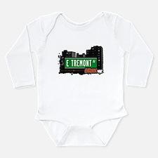 E Tremont Ave Long Sleeve Infant Bodysuit