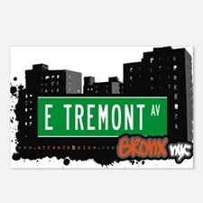 E Tremont Ave Postcards (Package of 8)
