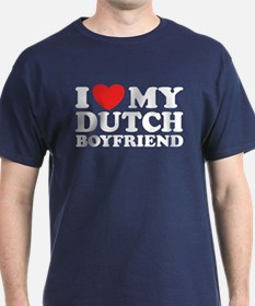 I Love My Dutch Boyfriend T-Shirt