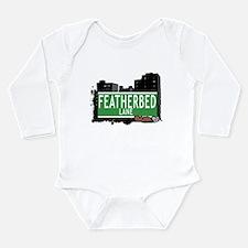 Featherbed Ln Long Sleeve Infant Bodysuit