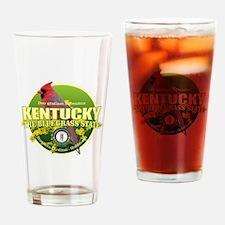 Kentucky State Bird & Flower Drinking Glass
