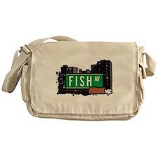 Fish Ave Messenger Bag