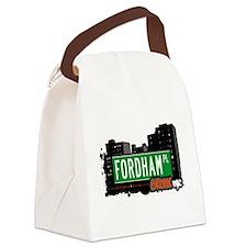 Fordham Pl Canvas Lunch Bag