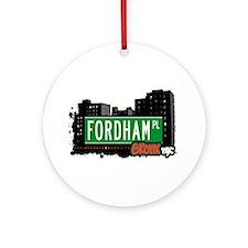 Fordham Pl Ornament (Round)
