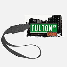 Fulton Ave Luggage Tag