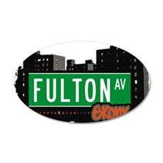 Fulton Ave Wall Decal