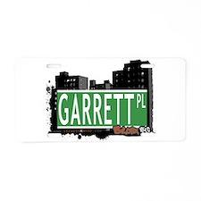 Garrett Pl Aluminum License Plate