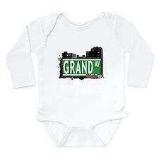 Grand Ave Long Sleeve Infant Bodysuit