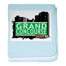 Grand Concourse baby blanket