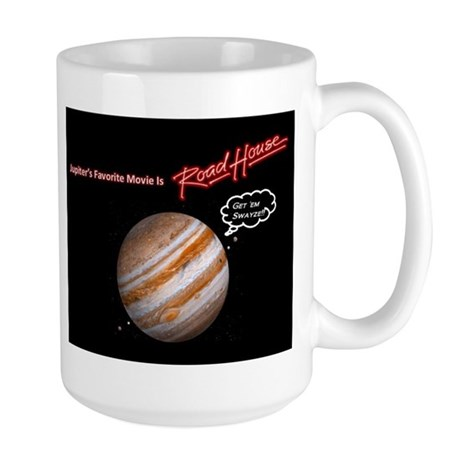 Jupiter's Favorite Movie is Roadhouse Mug