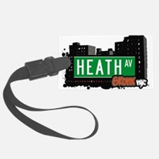 Heath Ave Luggage Tag