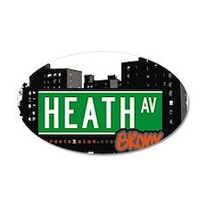 Heath Ave Wall Decal