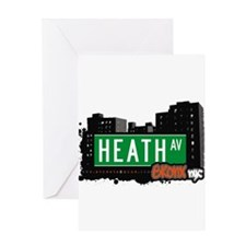 Heath Ave Greeting Card
