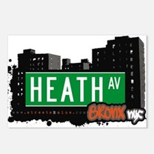 Heath Ave Postcards (Package of 8)