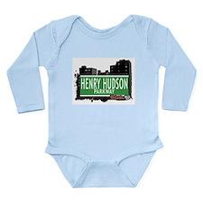 Henry Hudson Ave Long Sleeve Infant Bodysuit