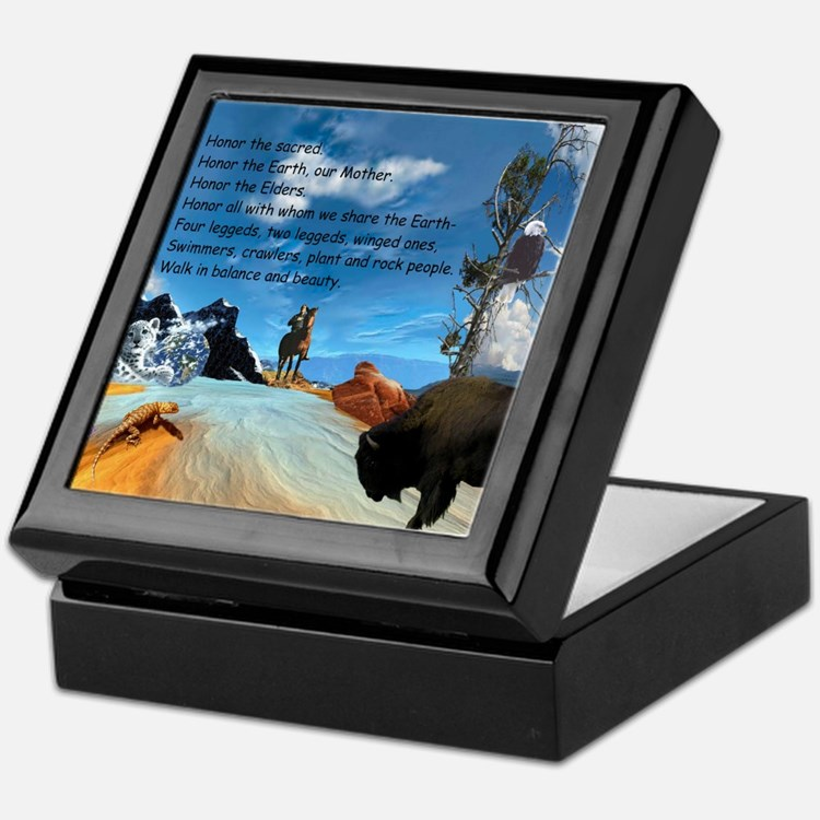 Honor Prayer Keepsake Box
