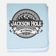 Jackson Hole Grey baby blanket