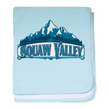 Squaw Valley Blue Mountain.png baby blanket