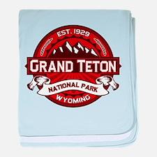 Grand Teton Crimson.png baby blanket