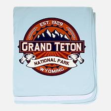 Grand Teton Vibrant baby blanket