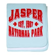Jasper Old Style Canada Red.png baby blanket