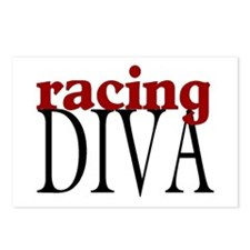 Racing Diva Postcards (Package of 8)