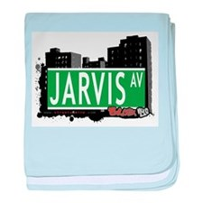 Jarvis Ave baby blanket