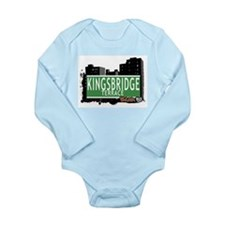 KINGSBRIDGE TER Long Sleeve Infant Bodysuit