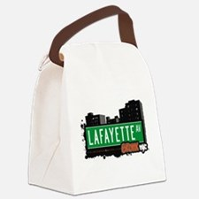 Lafayette Ave Canvas Lunch Bag