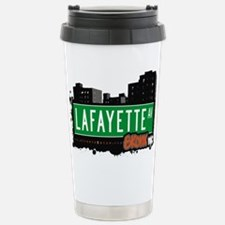 Lafayette Ave Stainless Steel Travel Mug