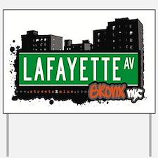 Lafayette Ave Yard Sign