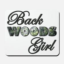 Back Woods Girl Mousepad