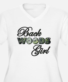 Back Woods Girl Plus Size T-Shirt