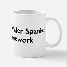 American Water Spaniel ate my Mug