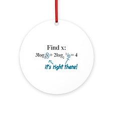 Find X -  Ornament (Round)
