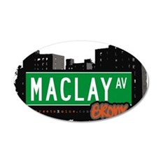 Maclay Ave Wall Decal