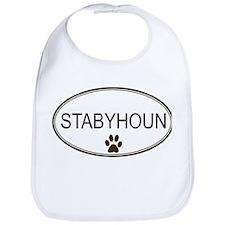 Oval Stabyhoun Bib