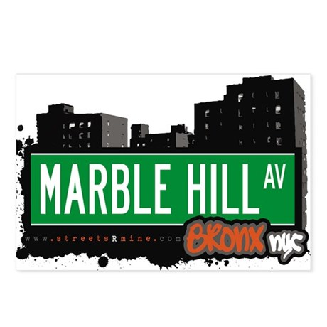 Marble Hill Ave Postcards (Package of 8)